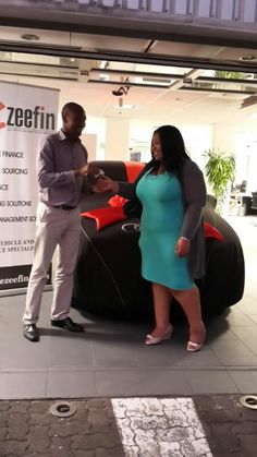 Congratulations to Miss Nyameka Tofa on her new Audi A3 S-Line white angel :)