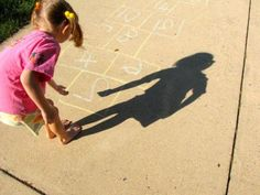 Skip-Counting Hopscotch: Itching to get outdoors? Get moving and play hopscotch with a twist: Use this game to learn the math concept of skip-counting (a skill thats a precursor to learning multiplication tables). My kids and I had a great time drawing with chalk, counting, tossing our stones, and hopping. The educational aspect was just an added bonus to a super fun afternoon!