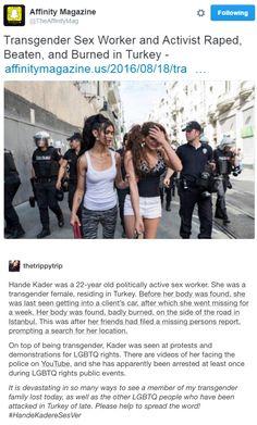 The shocking murder of trans activist Hande Kader says much about Turkey today