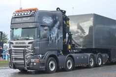 ★ STUNNING ★ SCANIA V8 AIRBRUSH TRUCK !!! LOUD PIPE Nordic Trophy SWEDEN