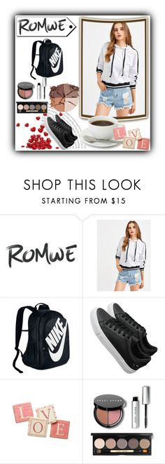 """""""contest"""" by myfashion-ii ❤ liked on Polyvore featuring NIKE, Pier 1 Imports, Bobbi Brown Cosmetics and lilah b."""