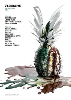 FABRICLIVE - Pineapple poster