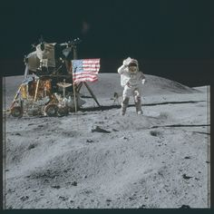 Apollo 16 Hasselblad image from film magazine 113/A - Orbit & Post-Ldg