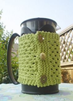 Ravelry: Gruenetree's French Press Cozy