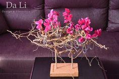 flowers arragement,cyclamen
