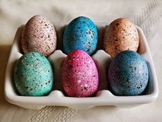 dying eggs with silk fabric - Google Search