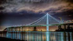 Another shot of the San Francisco Bay Bridge.