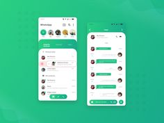 Android App Design, Android Ui, Linkedin App, Chat App, Interface Design, Bar Chart, Ios, Instagram, Website