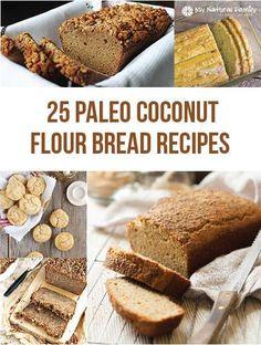 25 Coconut Flour Bread Recipes