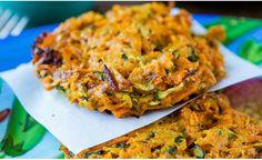 Galettes courgettes et carottes