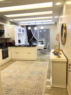 Bu Mutfak Öylesi Zevkli ve Kullanışlı ki, Evde Tüm Zaman Burada Geçebilir Design Rustique, Rustic Design, Design Moderne, Cuisines Design, Home Kitchens, Home Accessories, Living Spaces, Living Room, All About Time