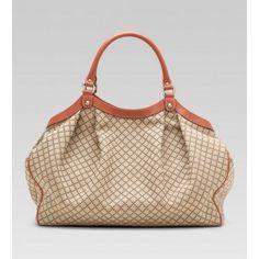 http://www.goutletonlinestores.com/gucci-sukey-large-tote-beigeebony-p-678.html    Gucci Sukey Large Tote Beige/Ebony
