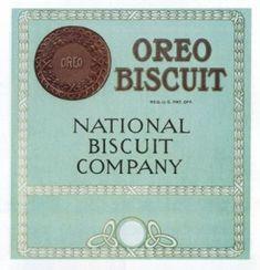 Oreo Cookie Packaging 1915 #stillaround