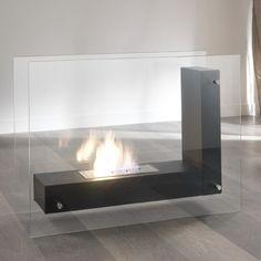 Stylish portable bioethanol fireplace with a burner 1500 ml at My Italian Living Ltd