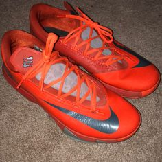 low priced e811a 3f7a2 Nike Shoes   Kd 6 Nyc 66   Color  Orange   Size  13