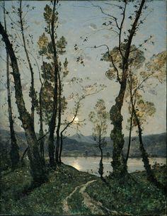 art, painting, and henri-joseph harpignies kép