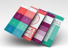 엉뚱상상 블로그 라이프 :: 모바일 어플리케이션 UX, UI 디자인 기초 팁 몇 가지