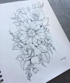 Rose Tattoos, New Tattoos, Body Art Tattoos, Sleeve Tattoos, Flower Hip Tattoos, Tatoos, Flower Design Tattoos, Styles Of Tattoos, Floral Hip Tattoo
