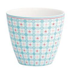 """GreenGate Latte Cup """"Mimi"""" (Blue)"""