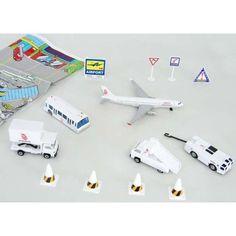 Dragonair 13PC. Airport Play Set W/PLAYMAT (**) Home