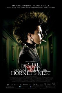 """In the third movie in the Millenium  Series, """"The Girl Who Kicked the Hornet's Nest,"""" Lisbeth is recovering in a hospital and awaiting trial for three murders. Mikael must prove her innocence, but Lisbeth must be willing to share the details of her sordid experiences with the court."""