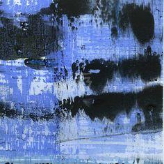GRISAZUR: Acrílico sobre papel, 13x13 cm.Oct. 27, 2016