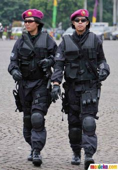Indonesia Special Force Woman