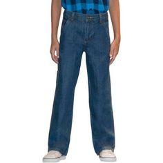 Faded Glory Boys' Carpenter Jean, Size: 5 Regular, Gray