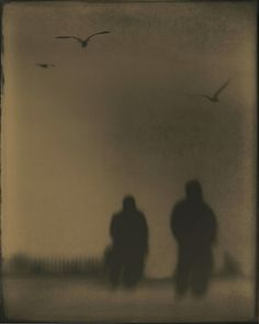 They are Leaving Us - Tintype by isvibilsky on Flickr.