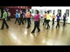▶ Hello Dolly -Line Dance (Demo & Teach) - YouTube