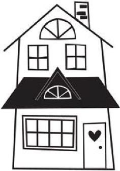 house outline clipart black and white clipart panda free rh pinterest com haunted house clipart black and white house clipart black and white outline