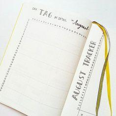 Das sind meine beiden August Tracker (gibt's das Wort eigentlich auch auf deutsch?!). Auf der ersten Seite notiere ich stundenweise Schlaf, Arbeit, unterwegs sein etc und habe so eine Übersicht, wie ich meinen Tag so verbringe. Und auf der zweiten Seite kann ich Haushaltsdinge wie Waschen, Putzen, Einkaufen etc. abhaken. Was trackt ihr alles monatlich? 😊 // These are my two August trackers, one time tracker and one habit tracker for household work. What do you track each month? :)…