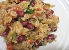 Luncheon Beans and Rice