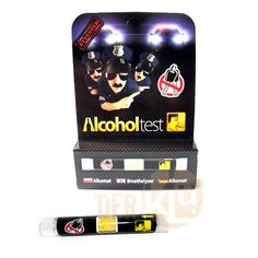 Alcohol screening test alcohol test tubes - Breathalyser