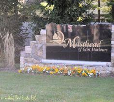 Sign for Masthead Subdivision