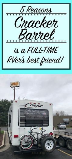 Cracker Barrel for Full-Time Rvers | Boondocking || #CrackerBarrel #FullTimeRVLife