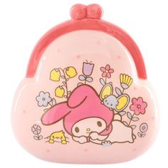 e4c6f4afee My melody pouch form money box ☆ Sanrio sexagenary cycle series black cat  DM service impossibility