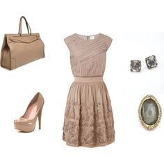 Love this style + color.  taupe might be my new favorite :)