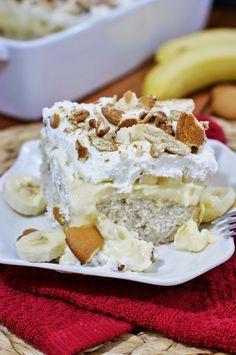 Banana Pudding Icebox Cake   www.thekitchenismyplayground.com
