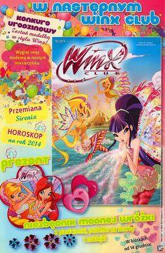 ¡Nueva revista Winx Club en Polonia muy pronto! http://poderdewinxclub.blogspot.com.ar/2013/11/nueva-revista-winx-club-en-polonia-muy.html