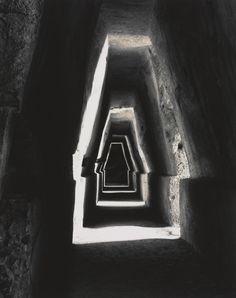 Linda Butler(American, b.1947)  Cave of the Sybil of Cumae, near Naples    1995  gelatin silver print
