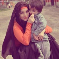 hijab russian style child kids