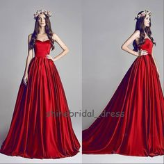 Chic A Line Wedding Dresses Prom Evening Gowns Quinceanera Dresses Custom #Unbranded #aline #Formal