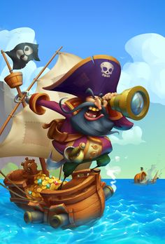 Pirate on Behance
