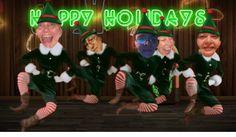 elf dancing honky tonk