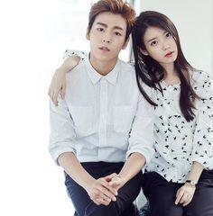 IU y el actor Lee Hyun Woo, son los modelos para la colección otoño/invierno 2015 de la marca de ropa Union Bay
