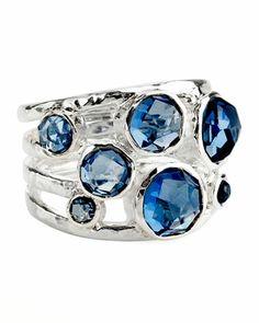 London Blue Topaz Ring by Ippolita at Bergdorf Goodman.