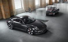 Porsche 911 - 50th anniversary edition I want this!