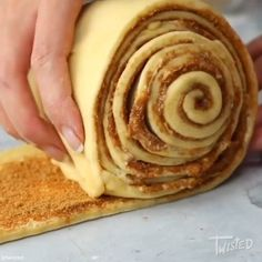 Giant Apple Pie Cinnamon Roll - swipe for the full video! Cinnamon Roll Apple Pie, Cinnamon Rolls, Apple Crisp, Unsalted Butter, Cupcake Cakes, Cupcakes, Baked Goods, Food To Make, Sweet Tooth