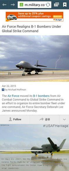 China Warns U.S. of North Korea's Rising Nuclear Capabilities: Report - NBC News.com http://www.nbcnews.com/news/world/china-warns-u-s-north-korea-could-double-nuke-arsenal-n346761  http://m.military.com/daily-news/2015/04/22/air-force-realigns-b1-bombers-under-global-strike-command.html?ESRC=todayinmil.sm  global strike commandᆞᆞ 신속대응군 지구타격군 등ᆞ usaf에서 이동된 소속등 지적등 시기등ᆞ지휘체계ᆞᆞ  JooSung Kimᆞ김주성ᆞ김주성NMᆞFTAᆞ  @NBCNews 님의 트윗을 확인해보세요 :  https://twitter.com/NBCNews/status/591203876742766592?s=09…